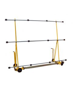 Inclined Tall Glass Trolley 496