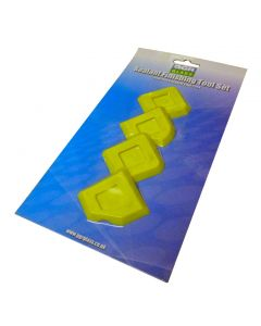Sealant finisher tool set