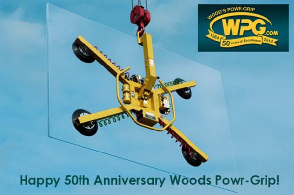 Happy 50th anniversary Woods Powr-Grip!