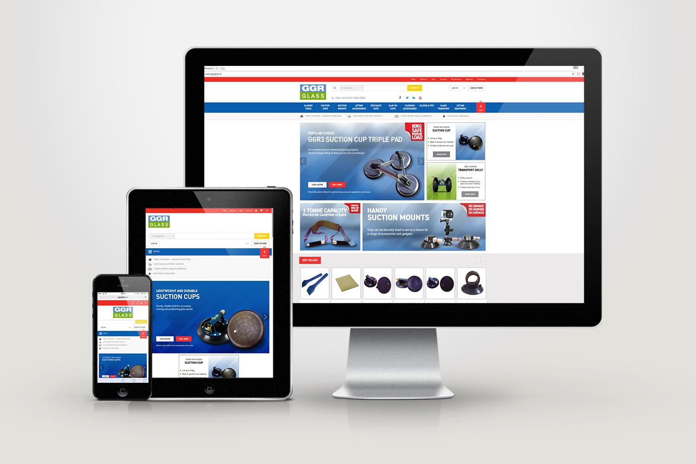 GGR Glass Website